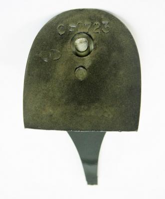 Каблук МАО женский модельный 0723 7/8 цвет черный