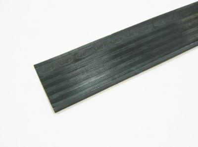 Полиуретановый косячок с протектором для носочной части обуви 6*3,5*50,5 чёрный PILOT
