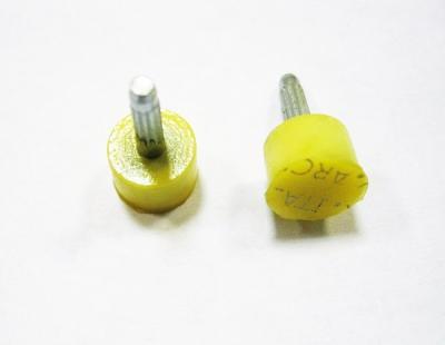 Набойки полиуретановые со штырём Ф-9 ARCHITAK круглые белые