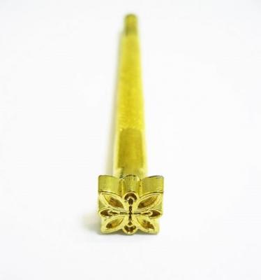 Штамп для тиснения по коже узорный Z-K134 бабочка