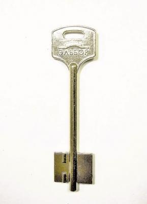Заготовка для ключа ЭЛЬБОР-17 116 мм флажковая