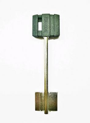 Заготовка для ключа BORDER-77 98mm флажковая