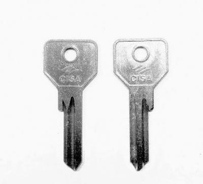 Заготовка для ключа CIZA G162 английская 2 паза
