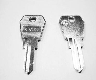 Заготовка для ключа Кузя ЕL-3 английская 2 паза