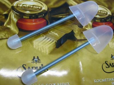 Формодержатели женские подпружиненные пластмассовые  Avel Y2238-B