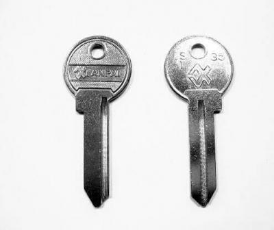 Заготовка для ключа XINPAI IS-1 35 английская 1 паз
