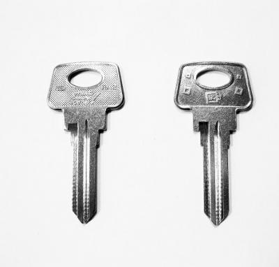 Заготовка для ключа LA-2P (ST3) английская 2 паза
