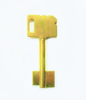 Заготовка для ключа MAIR-1 Кузя флажковая 6,5см*флажок12мм*15мм