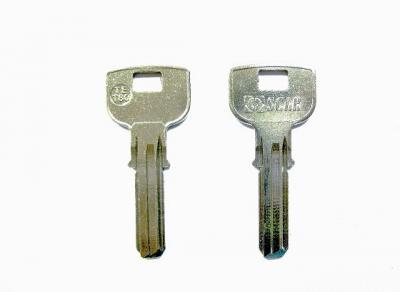 Заготовка для ключа Кузя ТЕ-Т80 вертикальная 3 паза