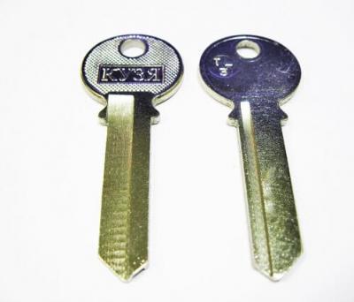 Заготовка для ключа английская Кузя TL-3 TRI-11D 1 паз
