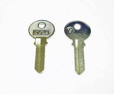 Заготовка для ключа Кузя TL-7 (TRI-6D) английская 1 паз