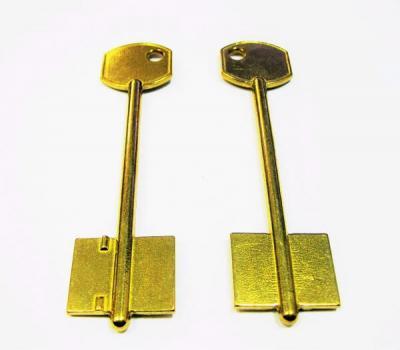 Заготовка для ключа РИГЕЛЬ флажковая 100 мм