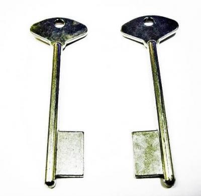 Заготовка для ключа РИФ флажковая 100 мм