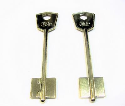 Заготовка для ключа КРИТ-М 100 мм флажковая