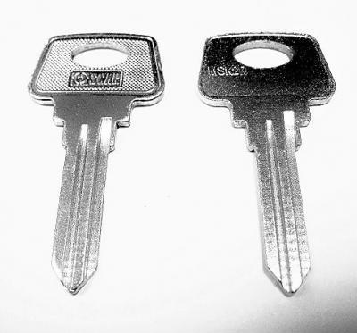 Заготовка для ключа английская OSCAR ЛА-2 ST-2 MSK2R