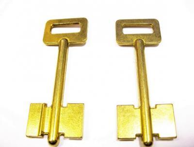 Заготовка для ключа ЕРЕВАН-2 (Б-1)  флажковая 85 мм