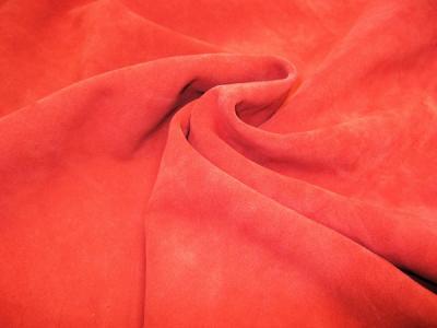 Кожа МРС Замша цвет красный