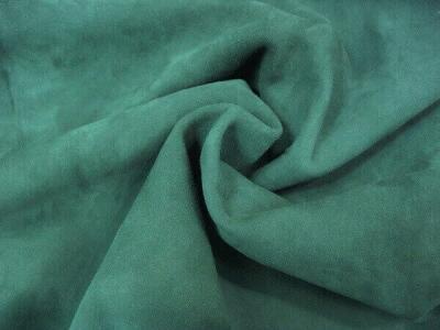 Кожа МРС  замша цвет зеленый