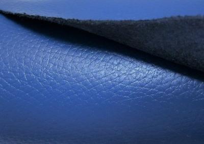 Кожа КРС для обуви цвет синий