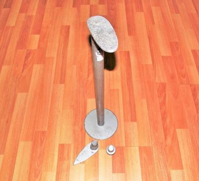 Лапка сапожная для пошива и ремонта обуви с 3 насадками  Высота 590 мм