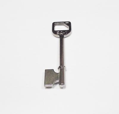 Заготовка для ключа БОДА-1 флажковая цвет светлый никель