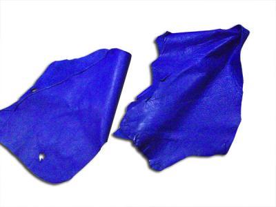 Кожа КРС (обрезки) синяя