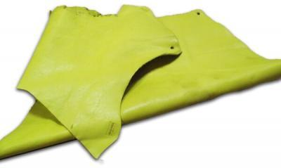 Кожа КРС (обрезки) жёлтая