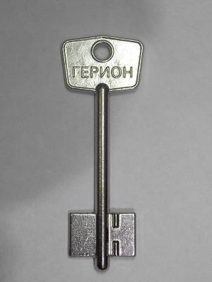 Заготовка для ключа ГЕРИОН МИНИ (узкий)