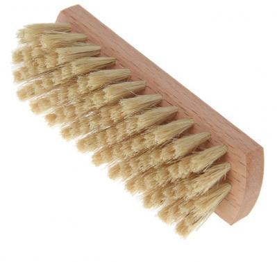 Щетка для обуви 125*40*11 80 пучков, натуральный волос