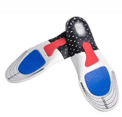 Стельки для обуви мужские ортопедические с силиконовыми вставками обрезные размер 39 - 43,5