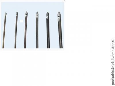 Крючок для ручной прошивки ф1,4