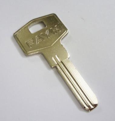 Заготовка для ключа FAYN вертик 2паза 2ст.прав.
