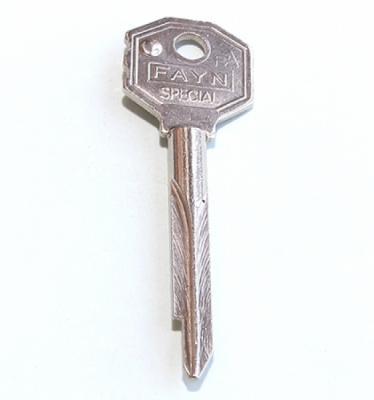 Заготовка для ключа FAYN (крест) Кузя