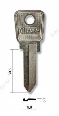 Заготовка для ключей английская (0164) CHTZ1 CEL1D CLK1 Челябинск