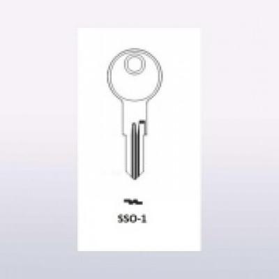 Заготовка для ключа (0023)XINPAI SS-1/ SILCA: ED-2/ ERREBI: SSO-1 почта