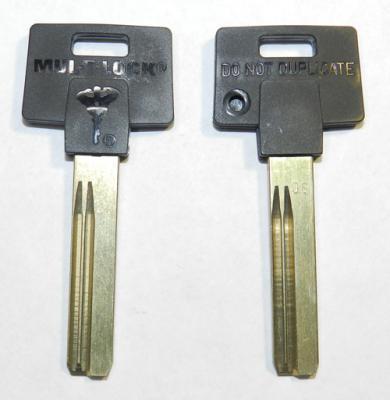 Заготовка для ключа MUL-T-LOCK-4P MLT-4P