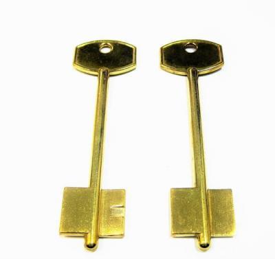 Заготовка для ключа МЕТТЕЭМ-2(06)желтый латунь ручка  металл