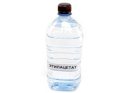 Этилацетат 1 л (прозрачный бак)