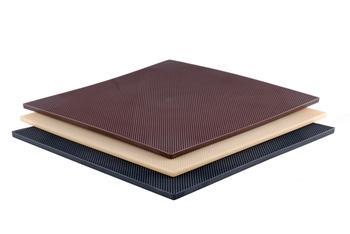 Пластина полиуретановая №4 PROFI 150*290*6мм коричневая