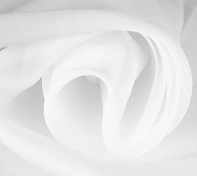 Ткань Вуаль цвет белый