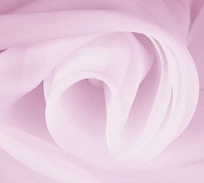 Ткань Вуаль Тюль цвет фуксия