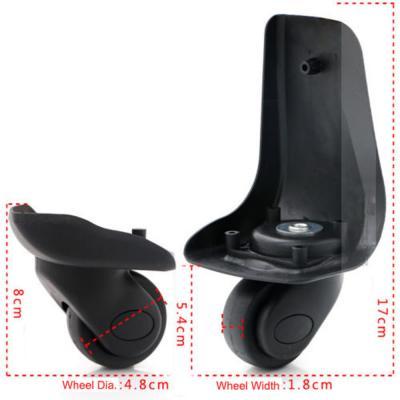 Колеса для чемодана диаметр 45 мм, высота 210 и 115 мм
