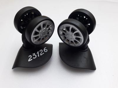 Колеса для чемодана диаметр 55 мм, высота 90 мм