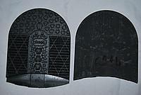 Набойки BISSELL RB621 L коричневые 90х100х7 мм