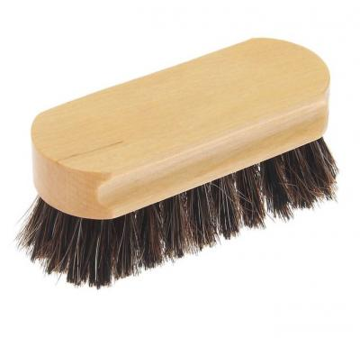 Щетка для обуви с конским волосом 9,4 см