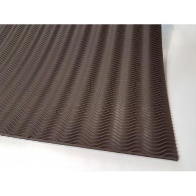 Профилактика листовая B6000 коричневый резина мелкая волна 600*400*3
