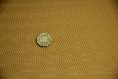 Профилактика листовая B6000 темно бежевый 600*400*3 мелкая волна
