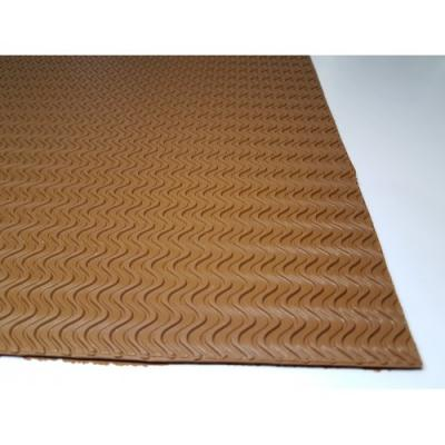 Профилактика листовая B6001 темно-бежевый 570*570*3,5 волна